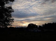 Ciel Gannat 03800 Coucher de soleil