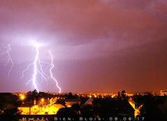 Orage Blois 41000 Orage BLOIS 08.06.2017
