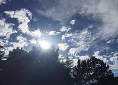 Ciel Teteghem 59229 Ciel d'été sur Teteghem
