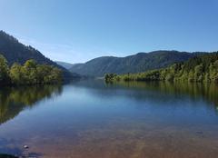 Ciel Xonrupt-Longemer 88400 Lac de longemer
