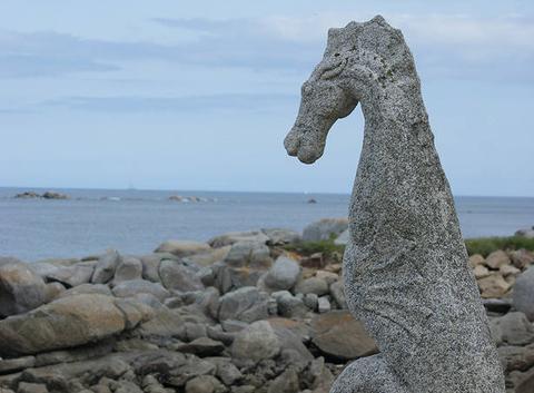 L'art au bord de mer