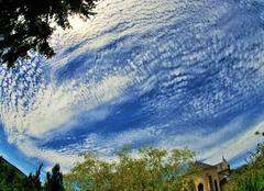 Ciel Arleuf 58430 église d'arleuf