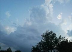 Chaleur Ayguesvives 31450 L'orage arrive