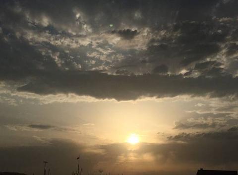 Un coucher de soleil en Asturies