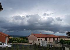 Nuages Sainte-Florine 43250 Nuage d'orage