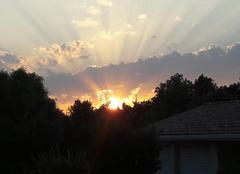 Ciel Fronton 31620 Couché de soleil