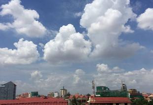 Nuages Phnom Penh Phnom Penh weather