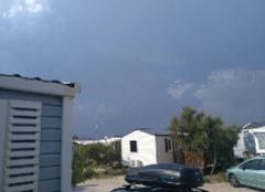 Orage Palavas-les-Flots 34250 L'orage arrive