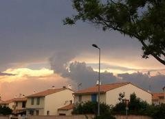 Nuages Miramas 13140 L'orage arrive