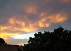 Orage Pujaut 30131 Sunset