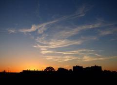 Ciel Niort 79000 Beau coucher de soleil