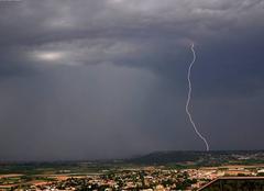 Nuages Calvisson 30420 Dégradation orageuse du 15/06/17
