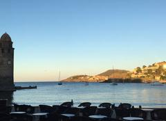 Ciel Collioure 66190 Fin de journée