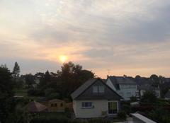 Ciel Plouha 22580 Le soleil se lève sur Plouha