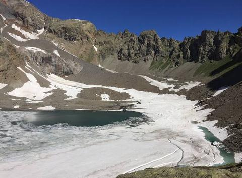 Lac  d eychauda
