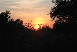 Ciel Saint-Victurnien 87420 Coucher de soleil