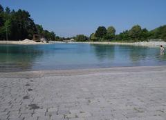 Chaleur Digne-les-Bains 04000 Plan d'eau