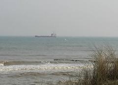 Mer Sangatte 62231 Sortie du channel de calais