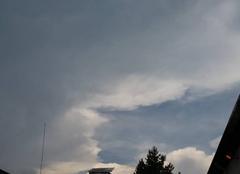 Chaleur Petersbach 67290 Temps lourd orageux.