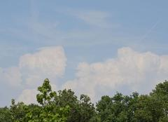 Nuages Saint-Lumine-de-Clisson 44190 Orage en formation