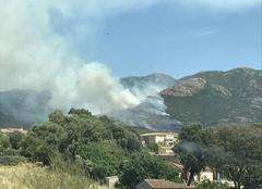 Chaleur Peri 20167 Incendie de foret