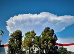 Nuages Toulon 83000 Cumulus arboricole....