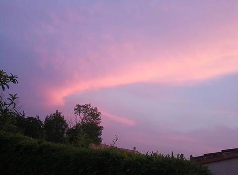 Photo du ciel  depuis chez moi 22h00