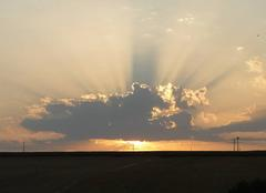 Ciel Douchy 45220 Très beau coucher de soleil