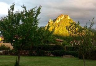 Insolite Foix 09000 Coucher de soleil sur le pic de Montgailhard