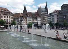 Chaleur Strasbourg 67000 Temps chaud sur l'Alsace.