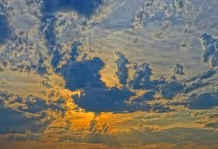 Ciel Vendome 41100 Beau ciel de Juin