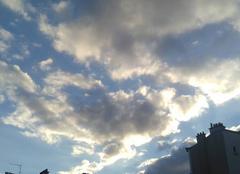 Ciel Clichy 92110 Cumulus de beau temps