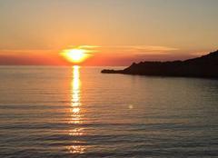 Ciel L'Ile-Rousse 20220 Coucher à la Pietra