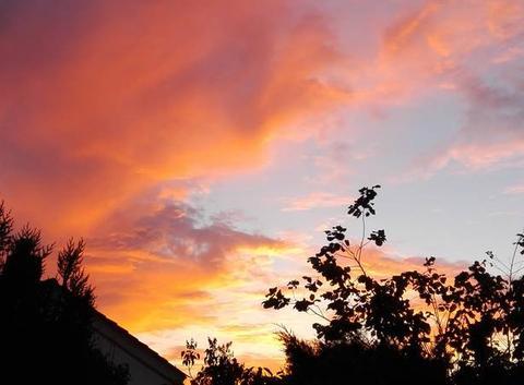 Des nuages dans le ciel