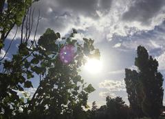 Ciel Mours-Saint-Eusebe 26540 Soleil matinal