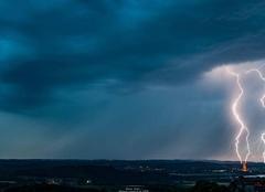 Orage Montagnieu 01470 Ambiances orageuses de l'ain