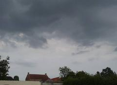 Pluie Crochte 59380 L'orage arrive