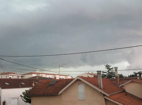 Orage sur Montauban