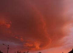 Ciel Pagny-sur-Meuse 55190 Coucher de soleil