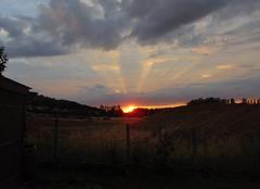 Ciel Nogent-le-Roi 28210 Coucher de soleil