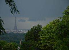 Orage Suresnes 92150 Violentes averses orageuses
