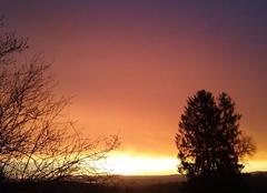 Ciel Bellegarde-en-Marche 23190 Lever de soleil à Campjon