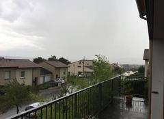 Pluie Messein 54850 Gros orages