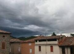Orage Saint-Ambroix 30500 L'orage arrive