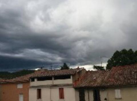 L'orage approche