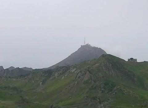 Pic du midi vue de La Mongie