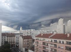 Nuages Villeurbanne 69100 Gros nuage