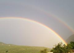 Pluie Amberieu-en-Bugey 01500 Arc en ciel