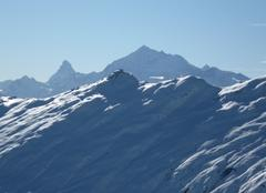 Neige Sierre Salutations du Valais