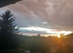 Ciel Amberieu-en-Bugey 01500 Couché de soleil après orage
